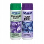 Nikwax Down Wash Direct 300ml + Down Proof 300ml
