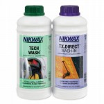 Nikwax Tech Wash 1L + TX. Direct Wash-In 1L
