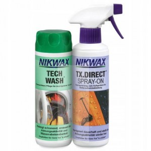 Nikwax Tech Wash 300ml + TX. Direct Spray On 300ml