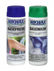 Nikwax Base Wash 300ml + Base Fresh 300ml